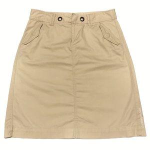 Banana Republic Grommet Chino Skirt